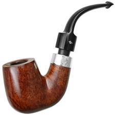 House Pipe Terracotta Bent Billiard P-Lip