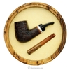 Silk Cut  Aero Reverse Calabash Set with Tamper