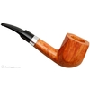 Savinelli Autograph Smooth Paneled Bent Billiard with Silver (3) (6mm)
