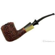 Nonpareil Rusticated Brown Bent Pot