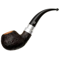 Sandblasted Bent Apple with Silver (5) (One Star)