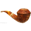Mark Tinsky Sandblasted Bent Bulldog (8) with Spalted Maple (Two Stars)