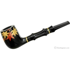 Urushi Sakura Billiard with Bamboo and Tamper