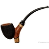 Walt Cannoy Sandblasted Paneled Cavalier Sitter with Zebra Wood (3)