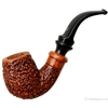 Rusticated Bent Billiard with Delecta Briar (R1)