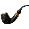 Sandblasted Bent Billiard with Delecta Briar