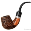 Picta Picasso Sandblasted Bent Billiard with Silver (S2) (22)