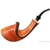 Kent Rasmussen Partially Rusticated Horn with Mazur Birch