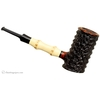 Tom Eltang Rusticated Poker with Bamboo