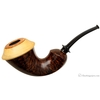 J. Alan Smooth Calabash with Boxwood