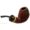 J. Alan Sandblasted Bent Egg with Boxwood