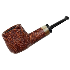 J. Alan Sandblasted Pot with Horn (1293)