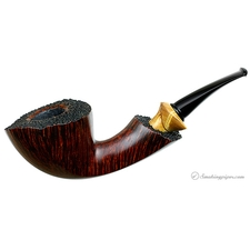 Il Duca Duca Smooth Bent Dublin with Exotic Wood (D3)