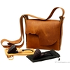 Adam Davidson Adam Davidson and Michael Parks Two Pipe Set with Leather Bag