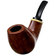 Adam Davidson Smooth Bent Egg with Boxwood