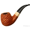 Michael Parks Sandblasted Bent Billiard with Mammoth Ivory (V)