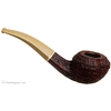 Michael Parks Sandblasted  Bent Bulldog with Mammoth Ivory