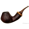 Gabriele Sandblasted Bent Brandy with Olivewood  (Turtle)