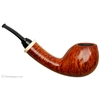 Wolfgang Becker Smooth Bent Brandy with Mastodon Ivory (Double Wolf Paw)