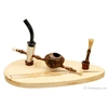 Kabab Cavalier with Horn and Bamboo with Stand and Tamper