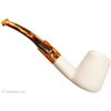 AKB Meerschaum Smooth Bent Volcano (with Case)