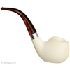 AKB Meerschaum Smooth Bent Oval (with Case)