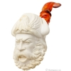 AKB Meerschaum Carved Viking (with Case)