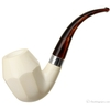 AKB Meerschaum Smooth Paneled Rhodesian (with Case)