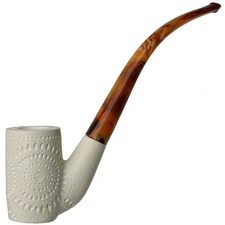AKB Meerschaum Lattice Bent Billiard (Ali) (with Case)