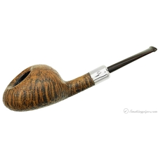 Sandblasted Straight Acorn with Silver (Hole in One) (40) (14)