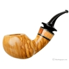 Smooth Olivewood Bent Apple with Jobillo