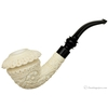 MeerQueen Meerschaum Carved Calabash (with Case)