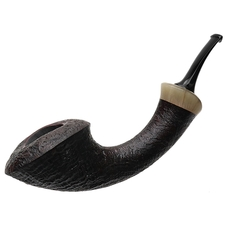 Jared Coles Sandblasted Horn with Horn (1825)