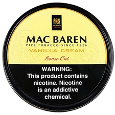 Mac Baren: Vanilla Cream 3.5oz