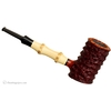 Danish Estates Tom Eltang Rusticated Poker with Bamboo (Unsmoked)