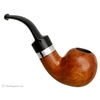 Danish Estates Tao and Ilsted Smooth Bent Apple with Silver (9mm) (Unsmoked)