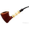 Danish Estates Lasse Skovgaard Sandblasted Bent Dublin with Bamboo (Lion) (Unsmoked)