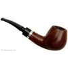 Danish Estates Jorn Larsen Smooth Bent Brandy with Silver Band