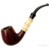 Danish Estates Stanwell Smooth Bent Billiard with Bamboo (Unsmoked)