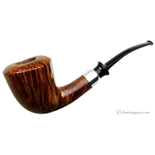 Former Handmade Smooth Bent Dublin with Silver
