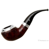 "Irish Estates Peterson ""Dublin"" with Sterling Silver Rim Cap and Band (999) (9mm) (Fishtail) (2000) (Unsmoked)"
