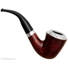 """Irish Estates Peterson """"Dublin"""" with Sterling Silver Rim Cap and Band (B10) (9mm) (Fishtail) (2003) (Unsmoked)"""