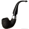 Irish Estates Peterson Mark Twain Sandblasted Bent Billiard with Silver (P-Lip) (2011)
