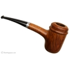 Irish Estates Peterson Hand-Made Smooth Calabash with Silver (1996) (Fishtail)