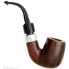 Irish Estates Peterson Hand-Made Smooth Bent Billiard with Silver (1990) (P-Lip)