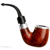 Irish Estates Peterson House Pipe Smooth Bent Billiard with Silver (P-Lip) (2013) (Unsmoked)