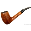 Italian Estates Savinelli Autograph Partially Rusticated Sitter Bent Billiard (6) (Replacement Stem)