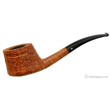 Becker Sandblasted Bent Sitter (Three of Clubs)