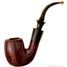 Duca Eraldo Smooth Bent Billiard (by Savinelli)
