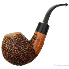 Ser Jacopo Rusticated Bent Ball (Maxima Maxima Maxima) (R1) (Unsmoked)